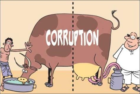 essay on political corruption in hindi